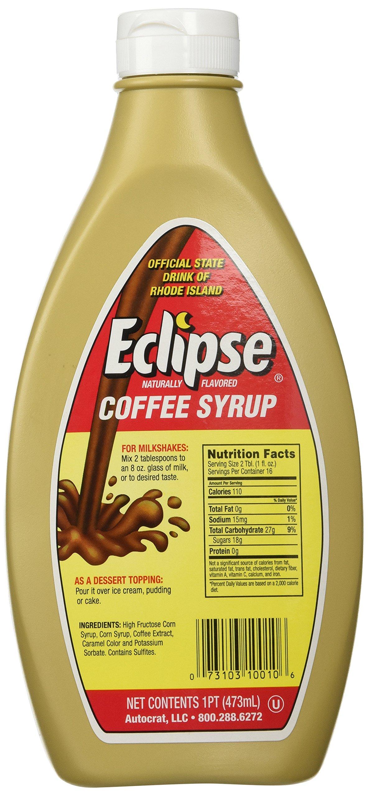 Eclipse Coffee Syrup Rhode Island