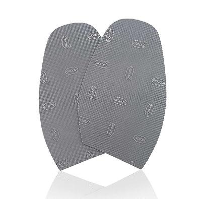 Amazon.com: Guardar su suela Gris Diseñador suelas para ...