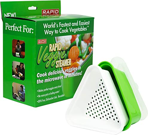 Amazon.com: Rapid Veggie Steamer – Cook Pefect verduras en ...