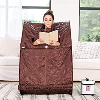 Tinfancy Portable 2L Personal Therapeutic Steam Sauna