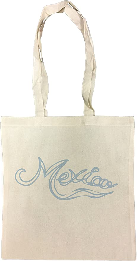 Mexico Bolsa De Compras Playa De Algodón Reutilizable Shopping Bag Beach: Amazon.es: Hogar