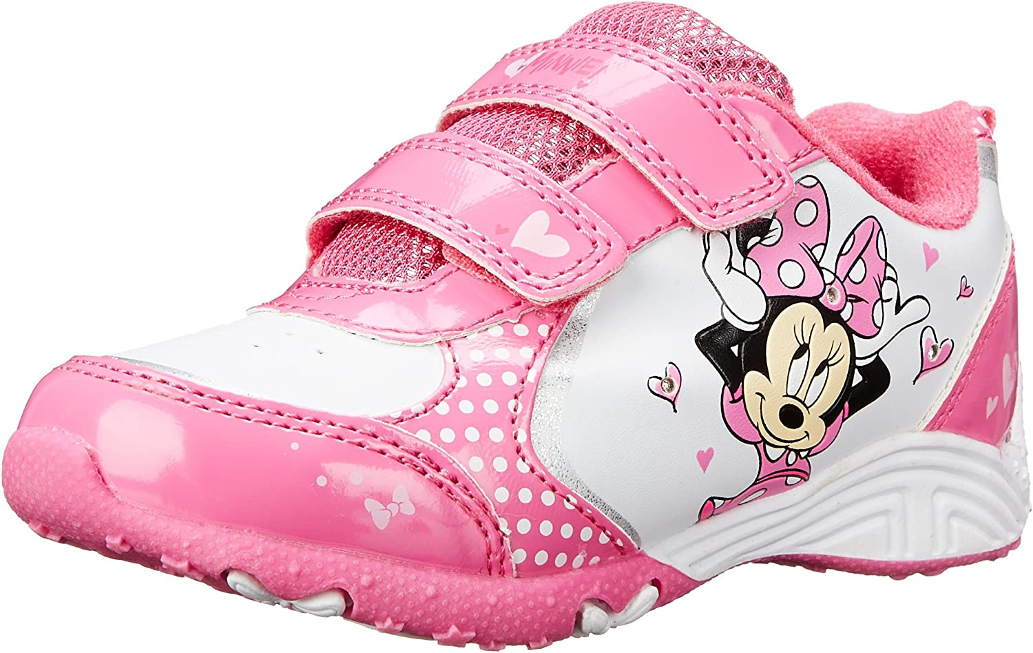 Brand New Toddler Girls Disney Minnie Mouse Sneaker Size 12