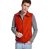 24 JOYAS Chaleco Forro Polar con cuello alto, cremallera y bolsillos - Prenda de abrigo cómoda, suave, cálido y tacto…