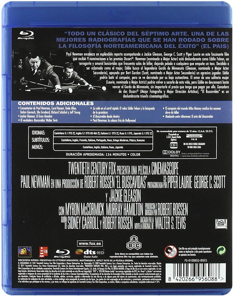 El buscavidas [Blu-ray]: Amazon.es: George C Scott, Jackie Gleason ...