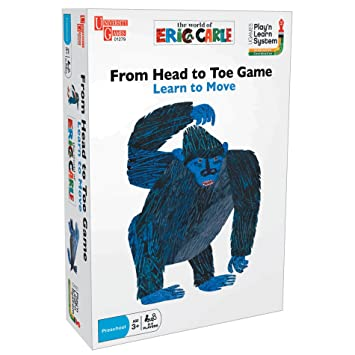 University Games UG-01279 Eric Carles From Head To Toe Game