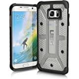 Urban Armor Gear Samsung Galaxy S7 Edge [5.5-Inch Screen] Feather-Light Composite [Ice] Military Drop Tested Phone Case (Clear Transparent)