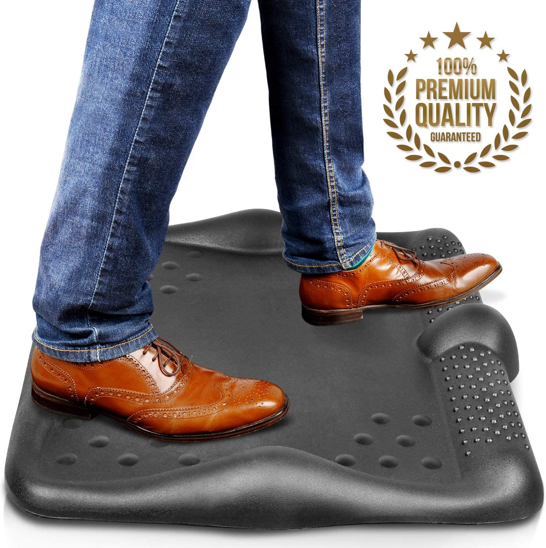 Anti Fatigue Standing Desk Mat - Huge Padded Ergonomic Comfort 26