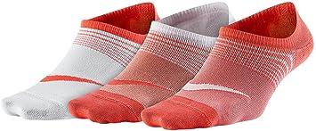 Nike 3 Pares de Calcetines Performance Lightweight Corto, Todo el año, Mujer, Color