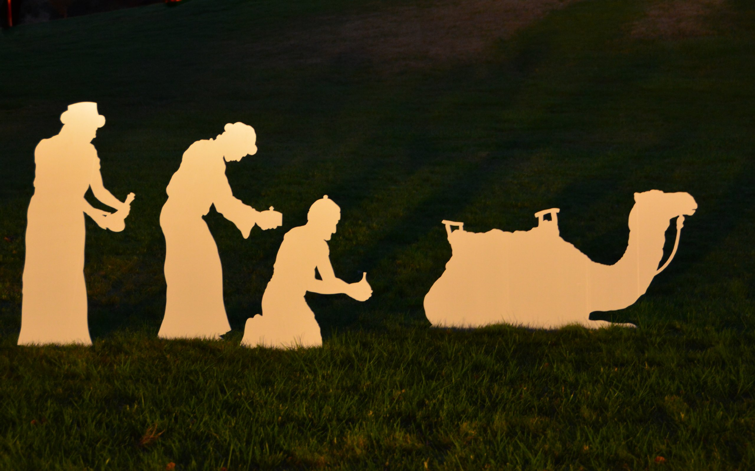 Large Wisemen for MyNativity Outdoor Nativity Set (3 sizes available)