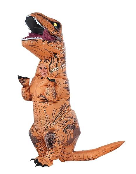 Amazon.com: Disfraz de trex para niños inflable T Rex 610821 ...