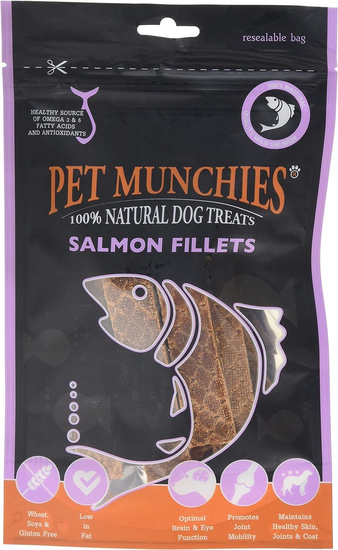 Pet Munchies - Salmon Fillets, 0.1KG
