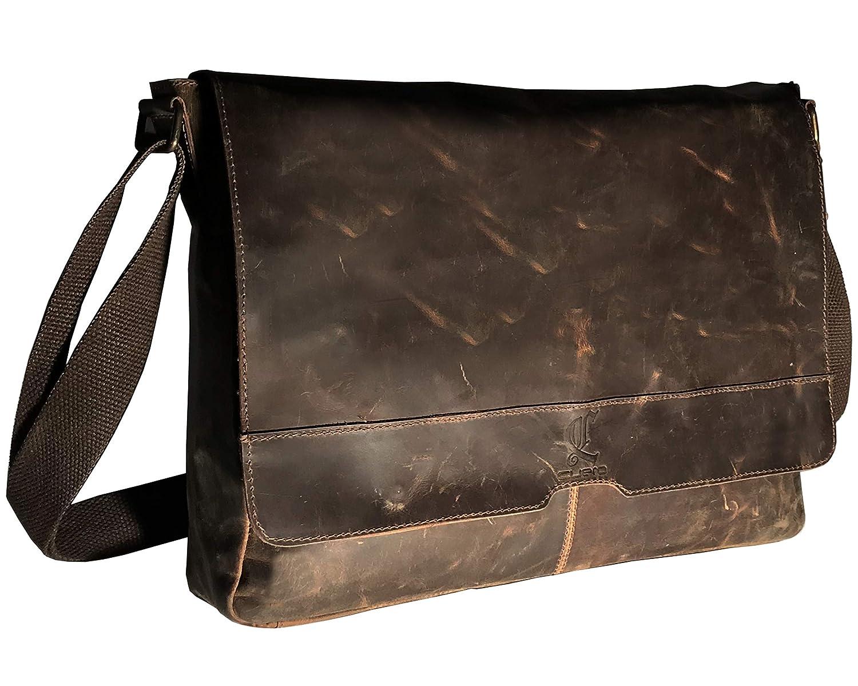 2a75427d241e cuero 16 inch Best Computer Leather Laptop Messenger Bags for Men Leather  Satchel Shoulder Bag Man Bag