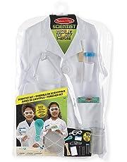 Melissa & Doug 18536 Scientist Role Play Costume Set,White