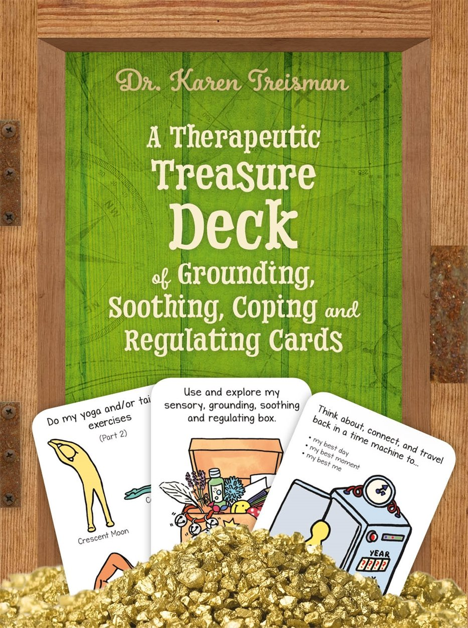 A Therapeutic Treasure Deck Of Grounding Soothing Coping And Regulating Cards  Therapeutic Treasures Collection