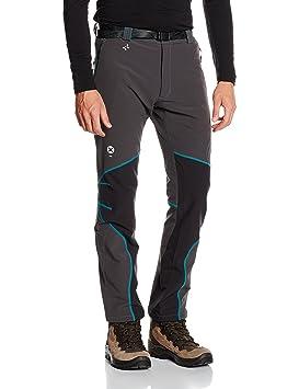 TRANGO Plyza FT - Pantalón Largo para Hombre, Color Antracita/Negro, Talla 2XL: Amazon.es: Deportes y aire libre
