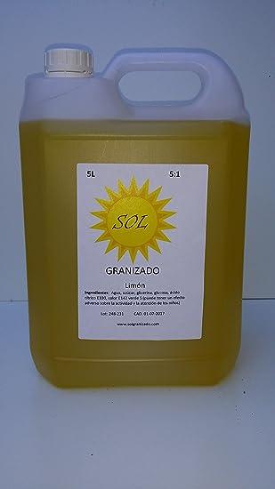 Granizado Limón (1:5) - 4 Garrafas de 5 Litros concentrado=120