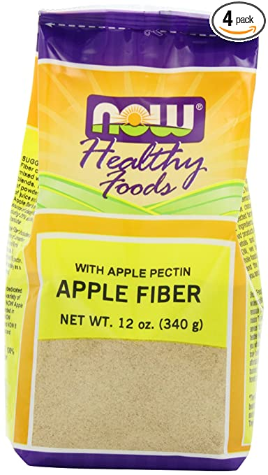 Amazon.com : NOW Apple Fiber Powder, 12-Ounce (Pack of 4 ...