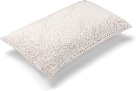 Bamboo and Memory Foam Pillow: Amazon