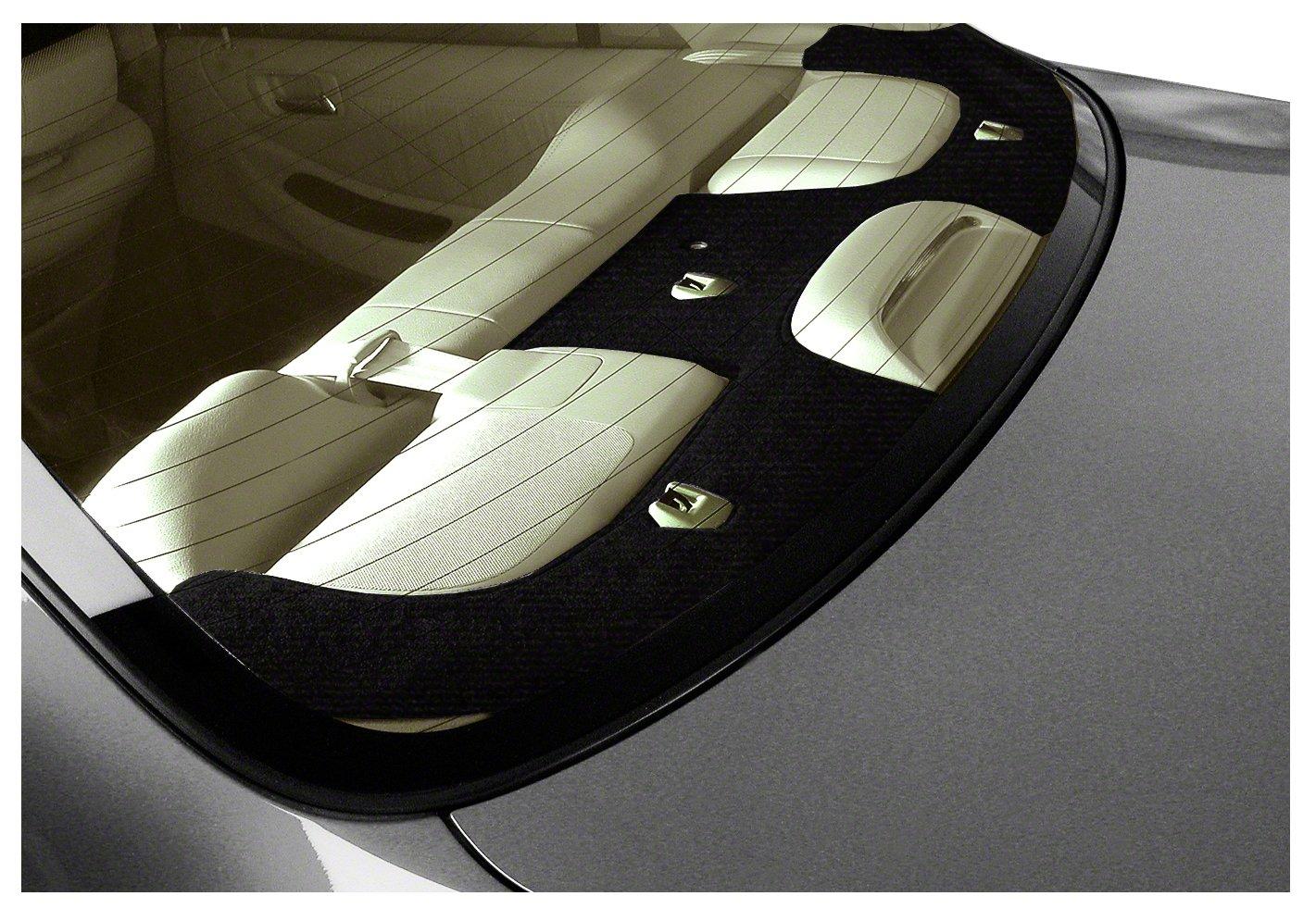 Coverking Custom Fit Dashboard Cover for Select BMW 5-Series Models - Velour (Black) CRDV1BM7262