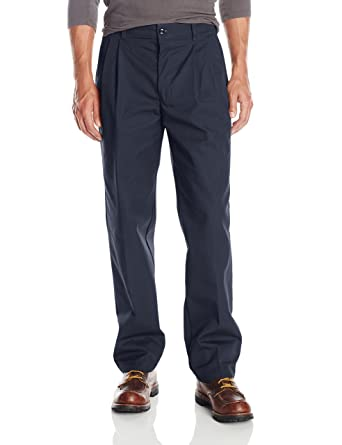 Red Kap Men's Pleated Industrial Work Pants at Amazon Men's ...
