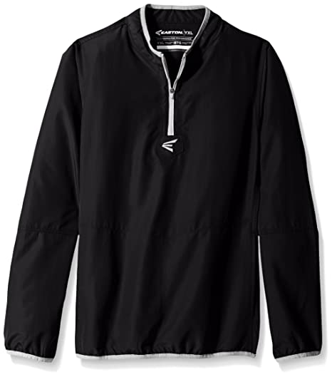 00737d43 Amazon.com: Easton Boys M5 Youth Long Sleeve Cage Jacket: Clothing