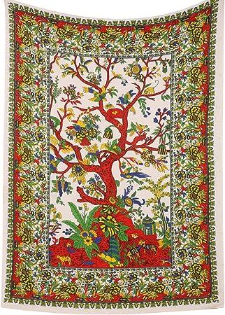Tinte para corbata, diseño de árbol de la vida, color blanco ...