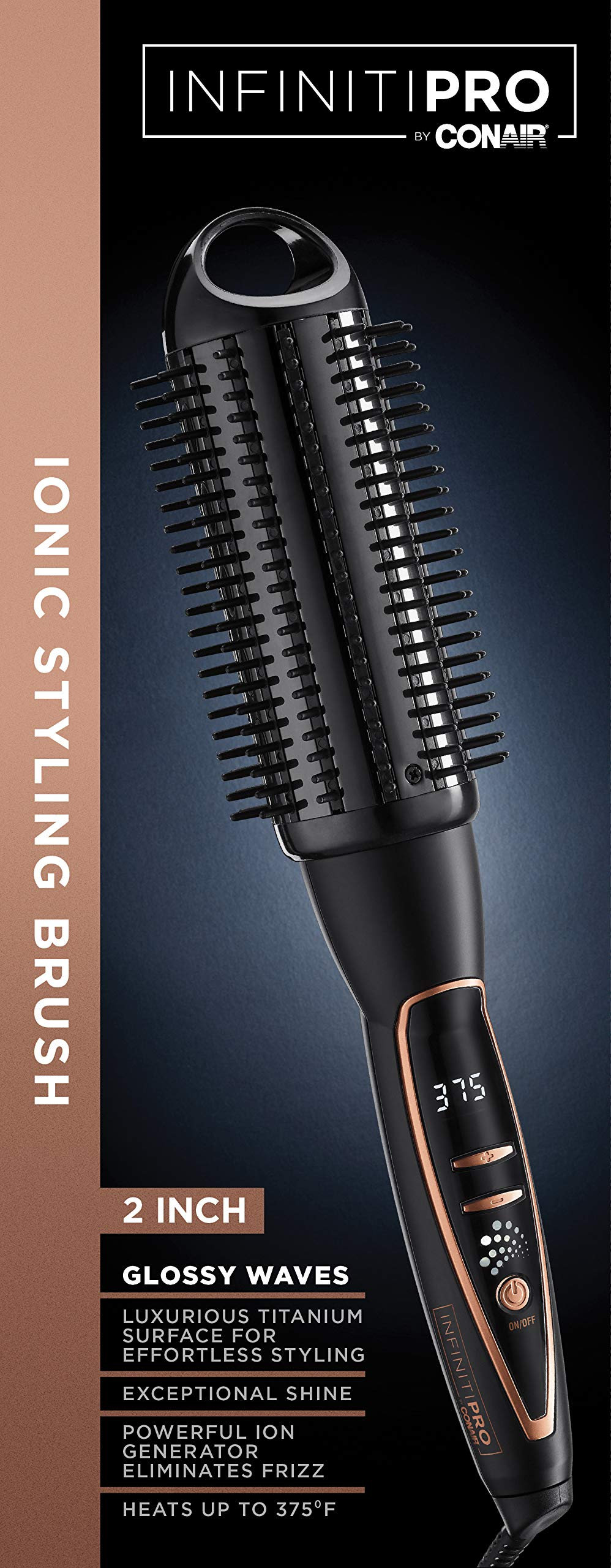 INFINITIPRO BY CONAIR Platinum Hot Curl Brush; 2-inch by Conair (Image #5)