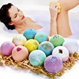 Bath Bombs Gift Set, Organic & Natural Bath Bombs, JOMARTO Handmade Bubble Bath Bomb Gift Set, Perfect for Bubble & Spa Bath,