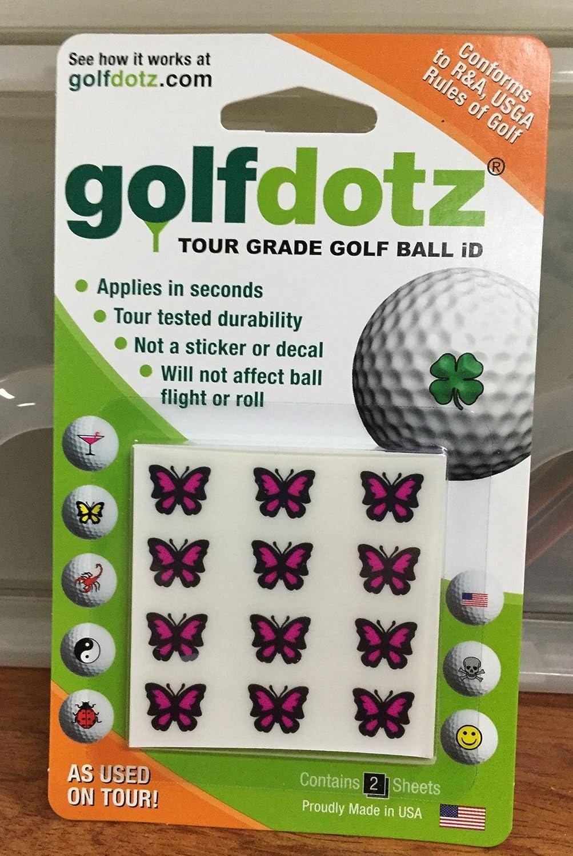 Golfdotz Marcador Bolas Golf. 400 marcabolas de14 diseños ...