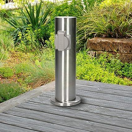 Prise de courant 4-prises Jardin Prise de courant Piquet idéal pour le jardin outdoor