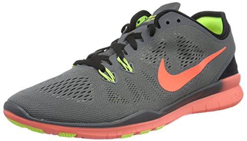Nike Free 5.0 Trainer Fit Breath Fitnessschuhe Damen schwarz