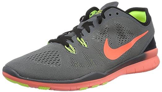 Nike Women's Free 5.0 TR Fit 5 Training Shoe Dark Grey/Black/Volt/