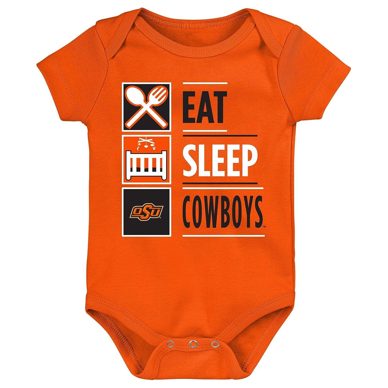 【人気商品】 NCAA新生児All I Do半袖Onesie B07414WMRZ Cowboys 24 Months 24 24 Months|Oklahoma State State Cowboys, 炭天:e36681b2 --- svecha37.ru