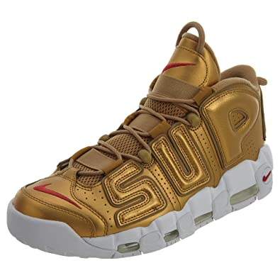quality design 52552 8f023 Amazon.com   Nike Air More Uptempo - 902290 700 Metallic Gold White    Fashion Sneakers