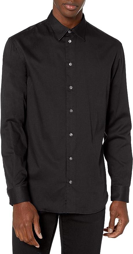 Emporio Armani 阿玛尼 纯棉 男式衬衫 S码1.8折$53.79 海淘转运到手约¥388