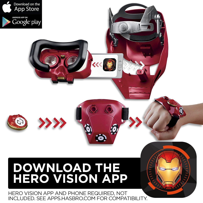 Avengers Marvel Infinity War Hero Vision Iron Man AR Experience: Amazon.es: Juguetes y juegos