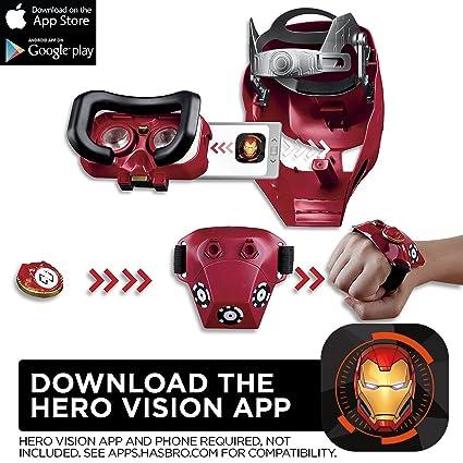8680468071 Amazon.com  Marvel Avengers  Infinity War Hero Vision Iron Man AR  Experience  Hasbro  Toys   Games