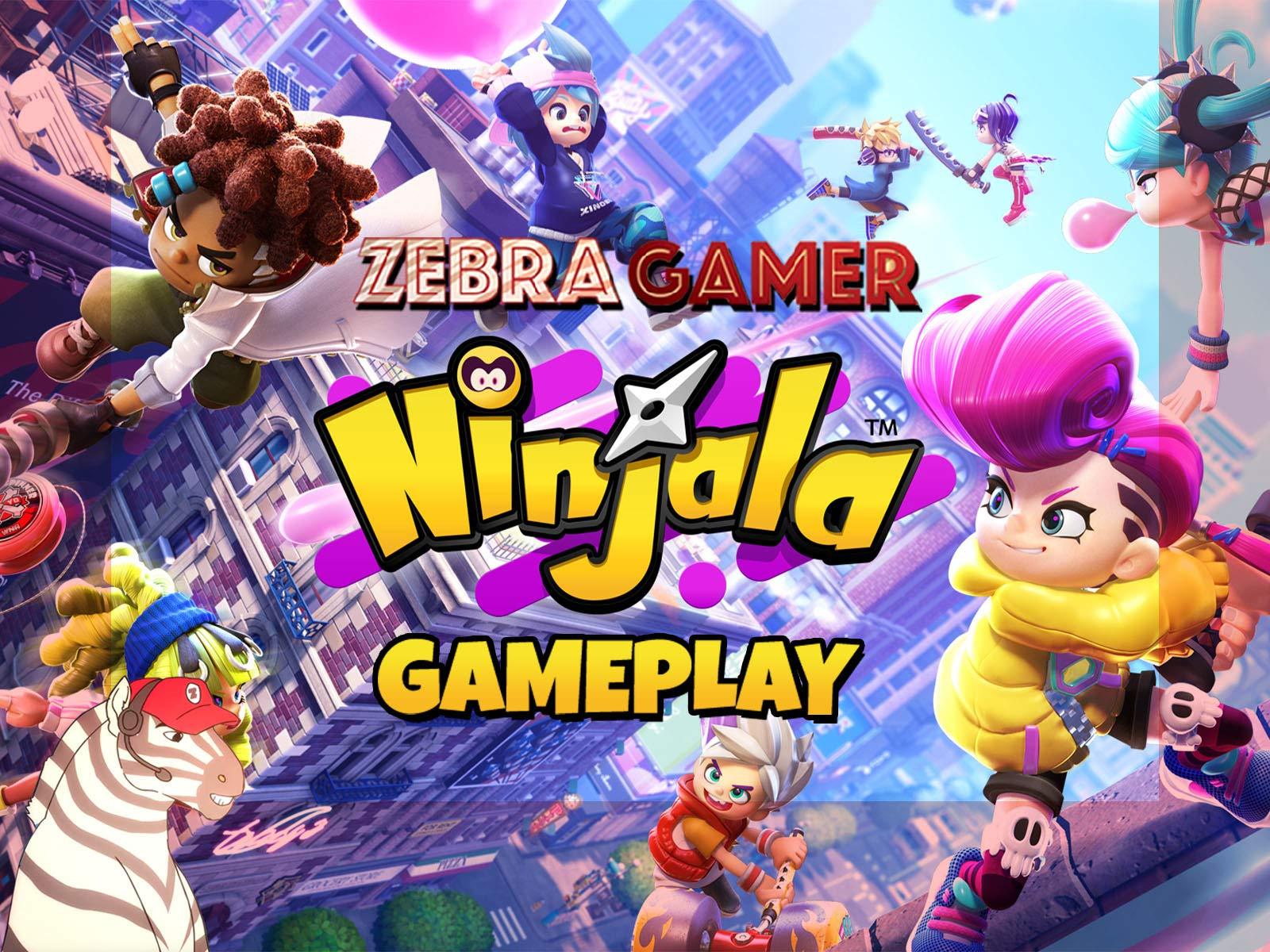 Clip: Ninjala Gameplay - Zebra Gamer - Season 1