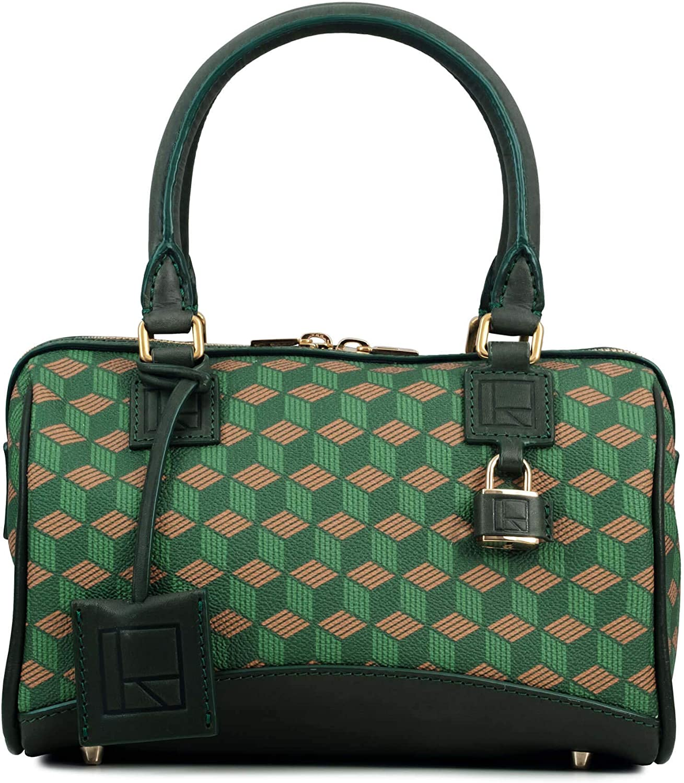 RELIQUIAE ESPAÑA Sac Club Bag S pour Femme. Différentes Couleurs. Émeraude