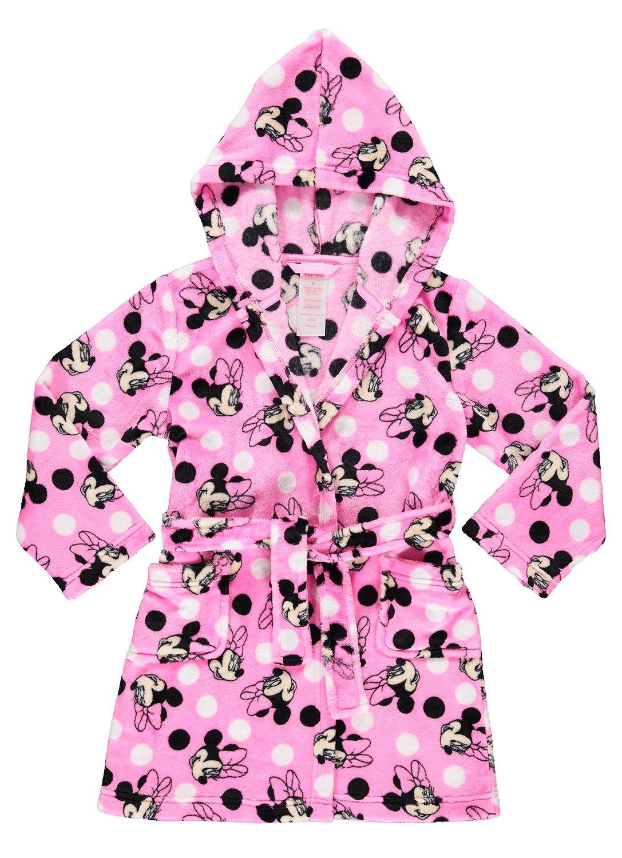 Girls Sleep Robe   Soft & Comfy Fleece Hooded Bathrobe