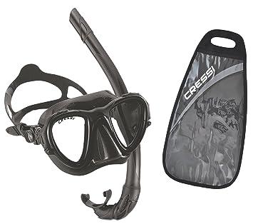 Cressi Occhio Plus apnea Máscara Snorkel conjunto