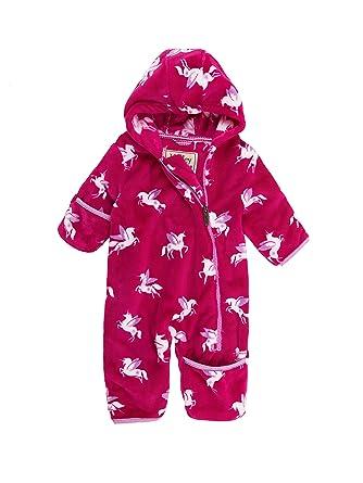 Hatley PB0UNCO263-Traje para la Nieve Bebé-Niñas Rosa Rosa ...