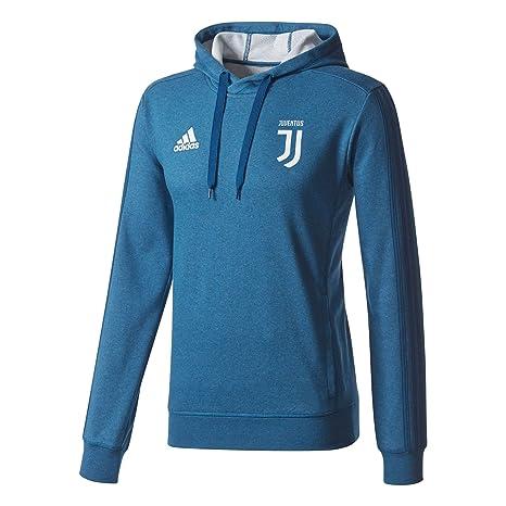 adidas Juve Hoody Sudadera-Línea Juventus de Turín, Hombre, Blanco/blngme,