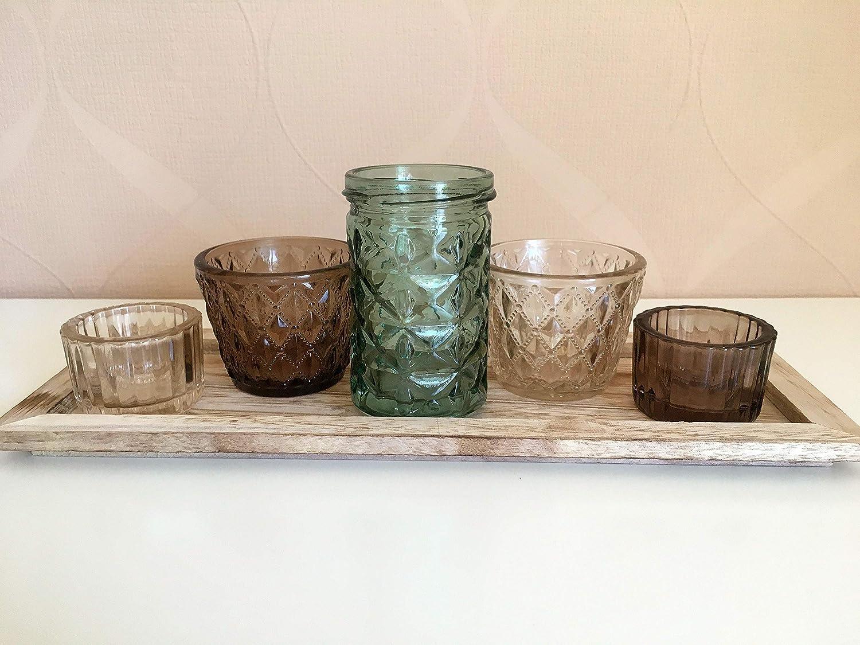 Portavelas de Juego con varios vasos–6piezas–ash860 Small-Preis