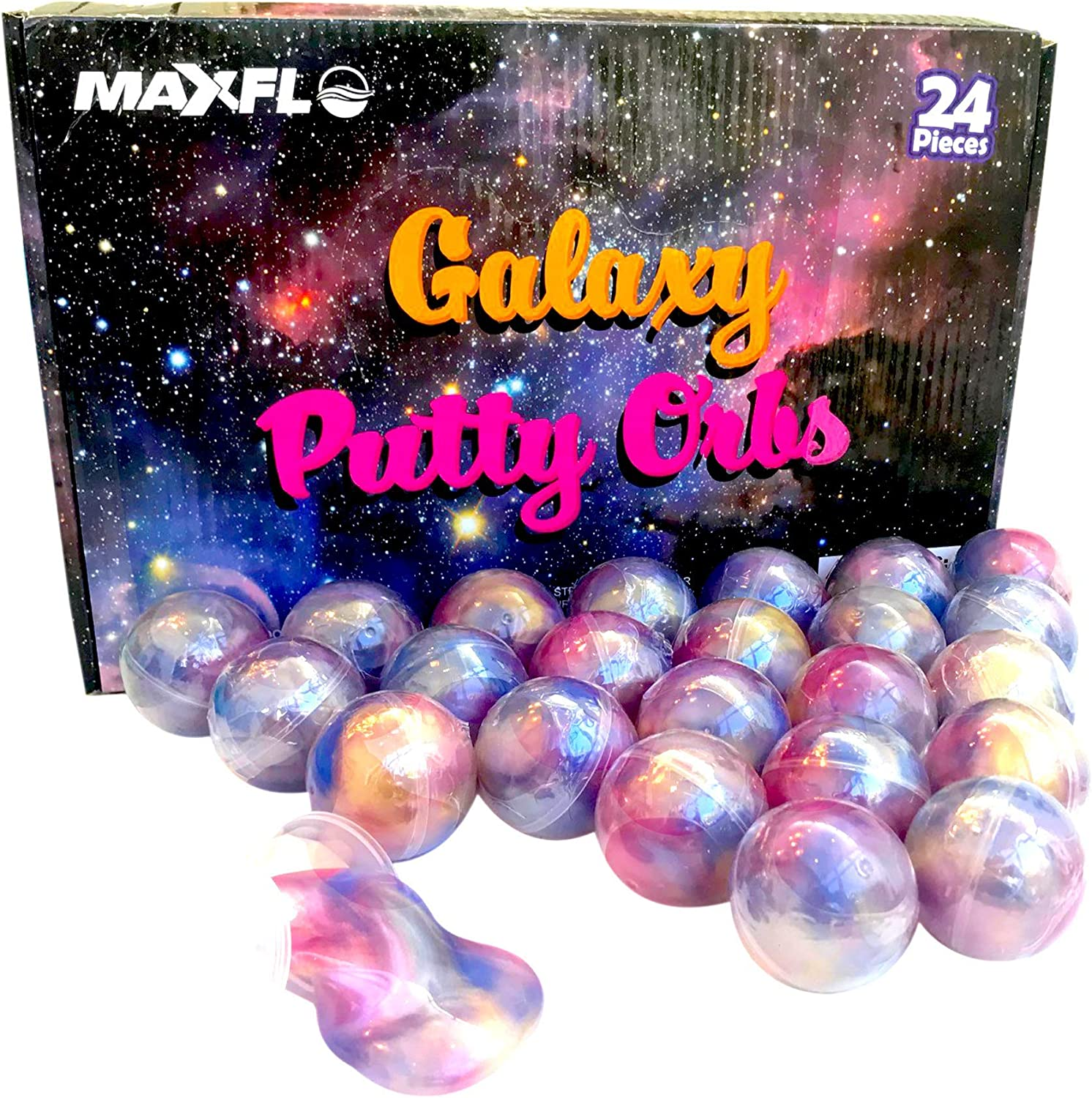 Galaxy Putty Space Party Favors Kids Putty Slime Stress /& Anxiety Relief 24 Pack Party Favor for Kids Girls /& Boys Slime Party Favors Putty Balls Adults Non Sticky Putty Bulk