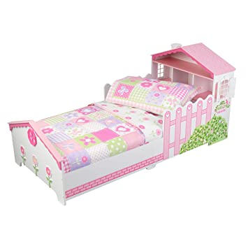 KidKraft Toddler Dollhouse Cottage Bedding Set 4 Piece
