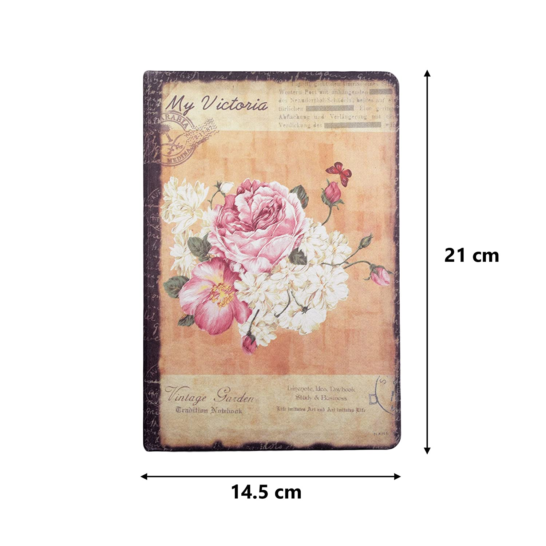 Diario Bullet, Twinkle Club Retro Cuaderno Floral Agenda A5 ...