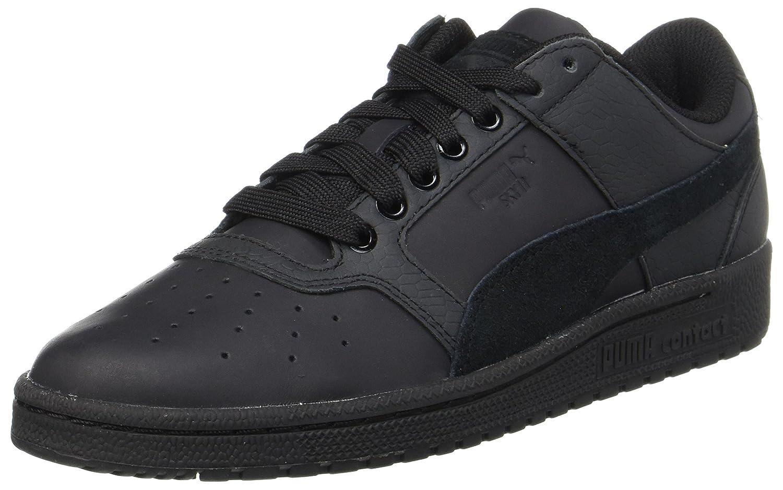 Puma Unisex-Erwachsene Sky Ii Lo Color Blocked Lthr Sneaker  39 EU|Schwarz (Black-black)