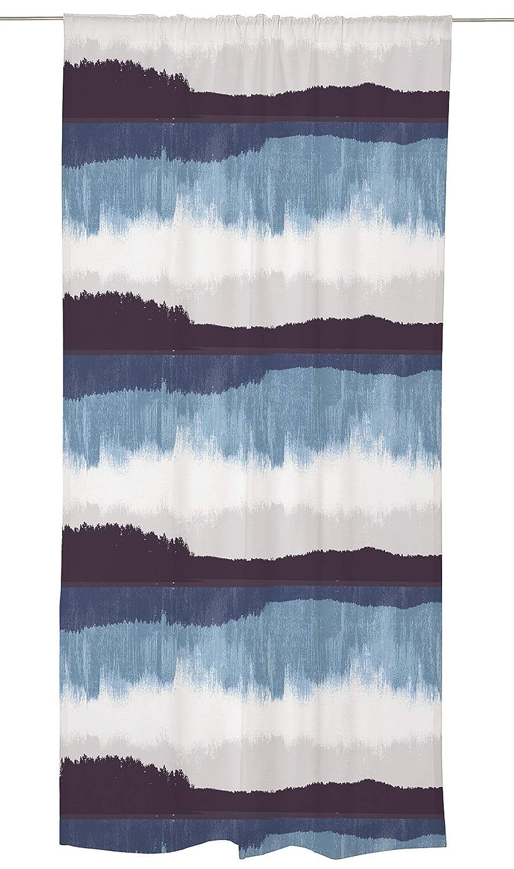 Vallila Vorhang Baumwolle 83%, Polyester 17% blau 240cm x 140cm B07GPFF546 Vorhnge
