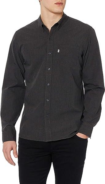Camisa Levis Sunset Denim Black Hombre L Negro: Amazon.es: Ropa y accesorios
